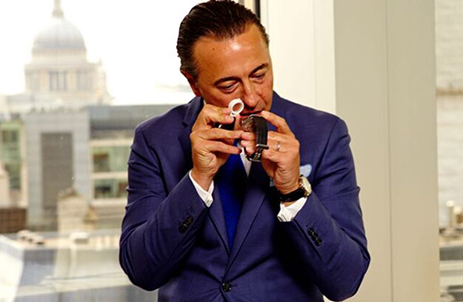Dominic Carr, founder of Carr Watches & Diamonds