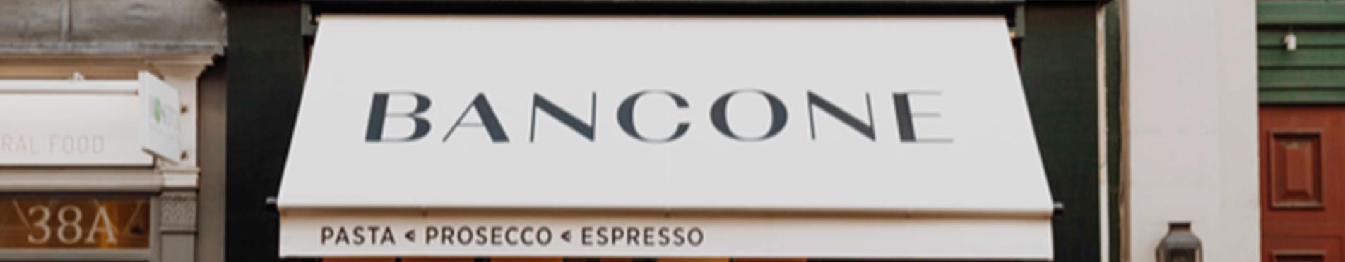 Bancone Italian restaurant in London Covent Garden