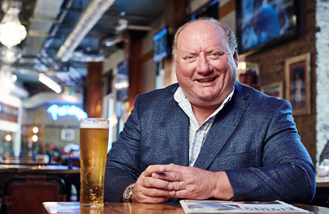 Exclusive interview with Alan Brazil