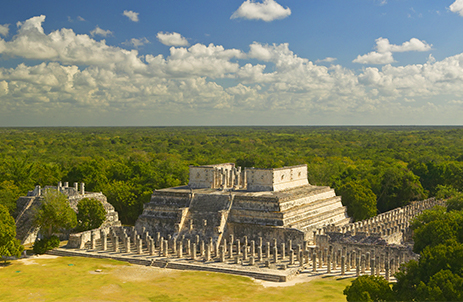 El Castillo or Temple of Kukulcan at Chichén Itzá