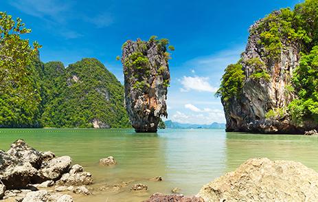 Phang Nga Bay, James Bond Island in Thailand