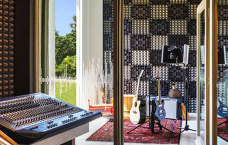 Recording Studio At W Hotel