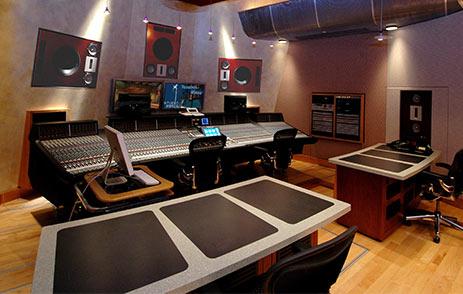Recording studio in Palms Casino Resort Las Vegas