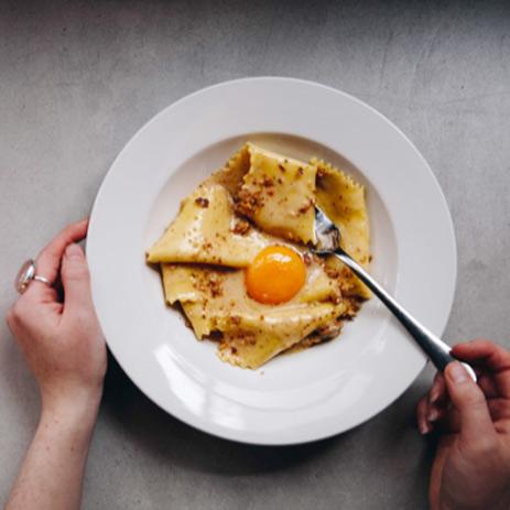 Pasta dish at Bancone