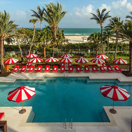 Faena Miami Hotel Pool and South Beach