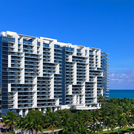 Exterior of W South Beach, Miami Florida