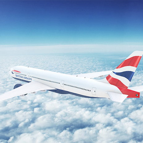 British Airways plane mid flight