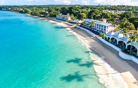Fairmont Royal Pavilion beach, Barbados