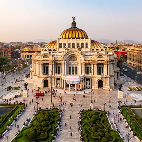 Palacio De Bellas Artes Mexico City