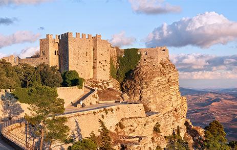 Venere Castle in Erice, Sicily