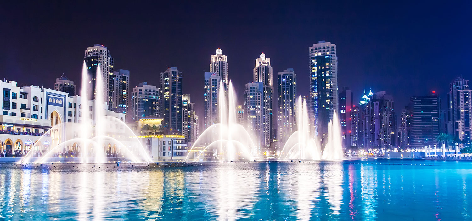 Watch The Dancing Dubai Fountains | Winged Boots